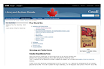 LIBRARIES & ARCHIVES OF CANADA